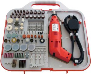 162Pc Mini Drill & Bit Set