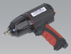 Composite Air Impact Wrench 1/2″Sq Drive Twin Hammer