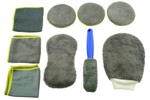 Microfibre Cleaning Kit – 9pc