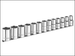 Britool- BRIE031803B Socket Set of 13 A/F 3/8in Drive