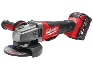 Milwaukee-  M18CAG115XPDB-502X 18v 2×5.0Ah Li-Ion 115mm Brushless Angle Grinder